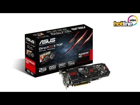 Видео карта ASUS HD7850 DirectCU II TOP