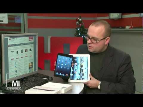 Видео обзор Apple iPad mini