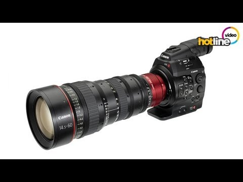 Canon Cinema EOS C300 видео обзор